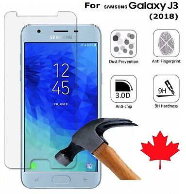 For Samsung Galaxy J3 2018 - Premium Tempered Glass Clear Screen Protector  for sale  Halifax