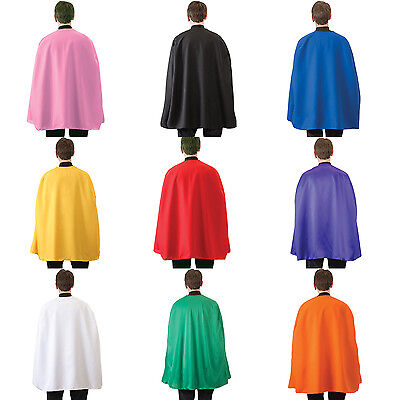 ADULT SUPERHERO COSTUME CAPE MENS WOMENS 36