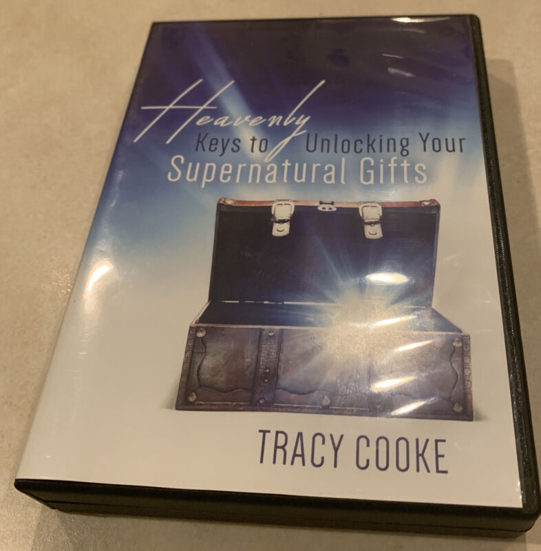 Heavenly Keys to Unlocking Your Supernatural Gifts by Tracy Cooke Audio CD (DM2)