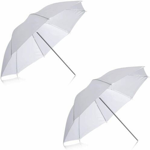 2 x 33, 40, 43 inch  white soft Photo Studio Umbrella US seller