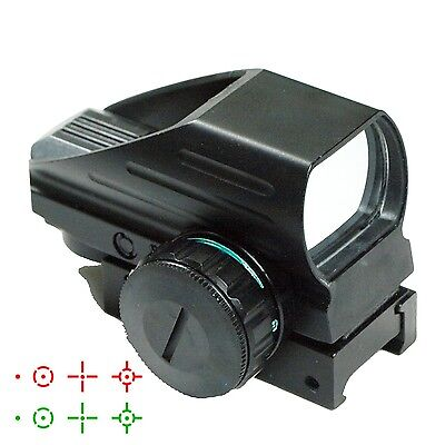 Tactical Holographic Red   Green Reflex Scope Sight Combo 4 Reticles Hd103