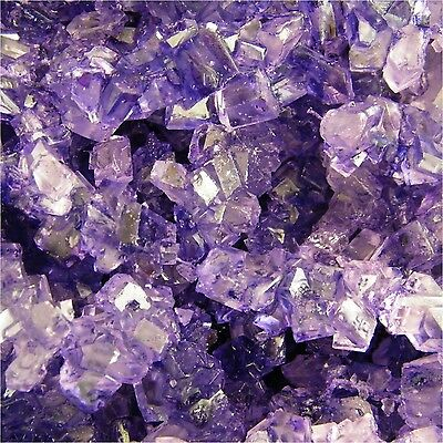Purple Grape Rock Candy crystals on Strings 1 -