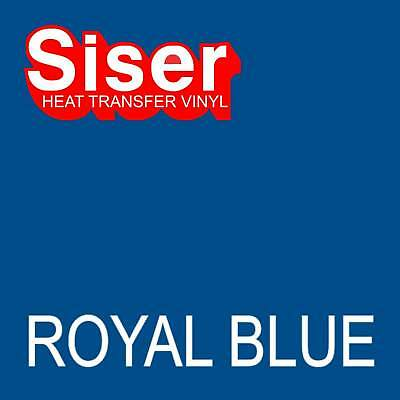 15 X 5 Ft Roll - Royal Blue - Siser Easyweed Heat Transfer Vinyl Iron On- Htv
