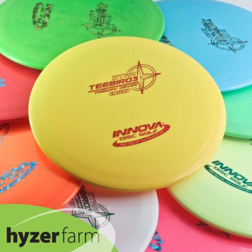 Innova STAR TEEBIRD 3 *pick color & weight* Hyzer Farm Teebird3 disc golf driver
