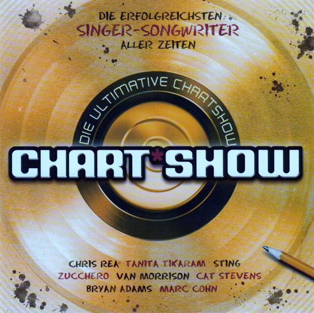 CHART SHOW: DIE ERFOLGREICHSTEN SINGER-SONGWRITER / 2 CD-SET - TOP-ZUSTAND