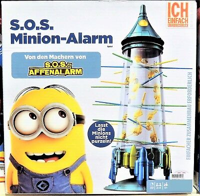 Mattel Spiele FFC11 - S.O.S. Minion-Alarm, S.O.S. Affenalarm Sonderedition  NEU  (Minion Party-spiele)