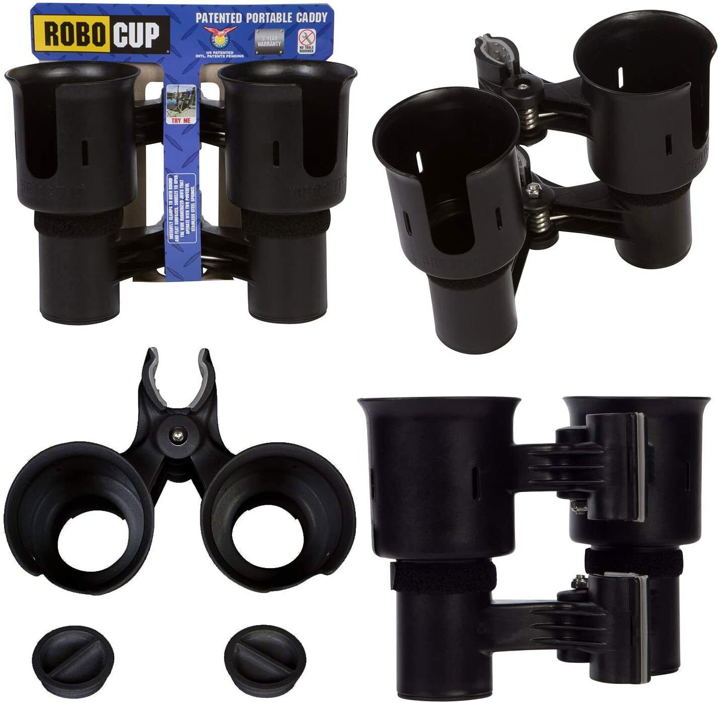 ROBOCUP 12 Colors, Best Cup Holder for Drinks, Fishing Rod/P
