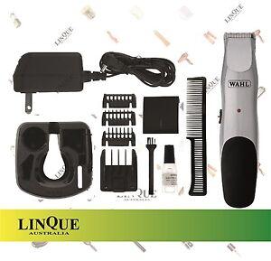 wahl beard stubble mustache rechargeable cord cordless trimmer 9918 4212 ebay. Black Bedroom Furniture Sets. Home Design Ideas