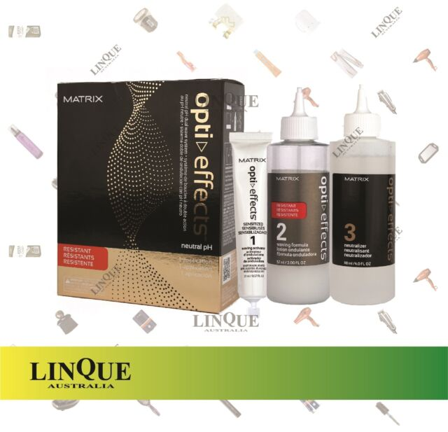 Matrix Opti Effects Neutral pH Dual Hair Wave System Kit Waving Resistant