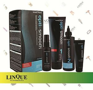 Matrix Opti Smooth Permanent Smoothing Straightening Resistant Hair Pro-Keratin