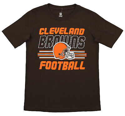 Outerstuff NFL Youth Cleveland Browns Team Color Short Sleeve Tee Cleveland Browns Youth Short