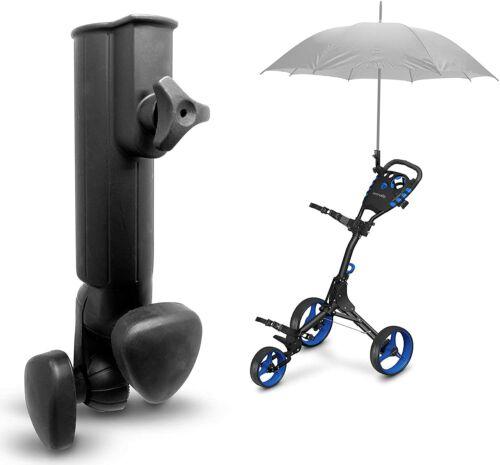 SereneLife Golf Trolley Universal Umbrella Base Golf Cart Umbrella Holder