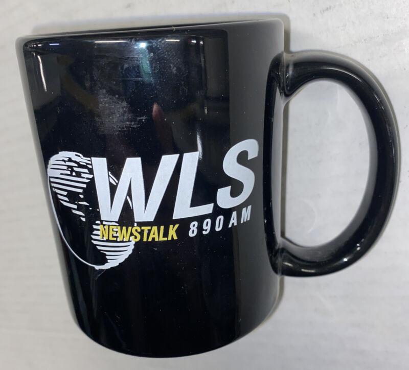 Vintage WLS AM Newstalk Radio 890AM Chicago ABC Station Mug Cup Free Ship