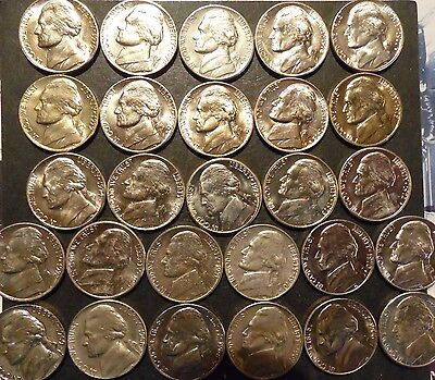 1965 thru 1979-PD Jefferson Nickel Choice/Gem BU Uncirculated Date Set