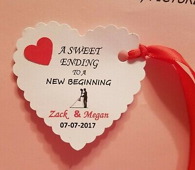 20   Personalized Wedding Favor Tag, Gift Tags, Bridal Shower Favor Tag, Shower. - Bridal Shower Gift Tags