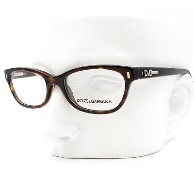 Dolce Gabbana D&G 1205 502 Eyeglasses Glasses Brown Tortoise 50-17-135 (D&g Eye Glasses)