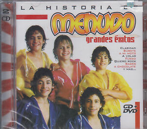 CD - La Historia De Menudo NEW Grandes Exitos CD/DVD - FAST SHIPPING !