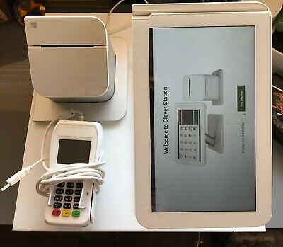 Clover C100 Station 1.0 - Point Of Sale System Complete Pos Setup Pro - Used