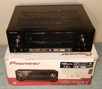 New  Other  Pioneer Vsx 1024 K 7 2 Ch 4K Ultra Hd 3D A V Home Theater Receiver