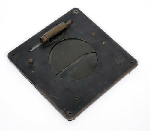 """Packard shutter #4 for large format cameras Opening 2.5"""" outer size 4.75"""" #P01"""