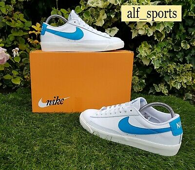 ❤ BNWB & Authentic Nike ® Blazer Low Leather Trainers in White...