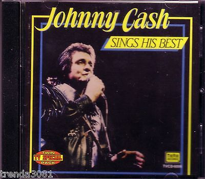 JOHNNY CASH Sings His Best TEE VEE CD Classic 60s Country Anthology TV