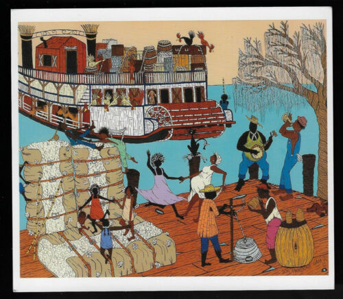 Folk Art By Hambone:River Dance#175f
