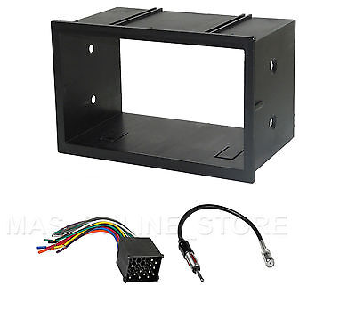 VW CAR STEREO RADIO KIT DASH INSTALL MOUNTING TRIM WIRE HARNESS FREE WIRE CAPS
