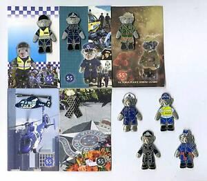Victoria Police Blue Ribbon Foundation Lapel Badges. Will sep. Glen Iris Boroondara Area Preview