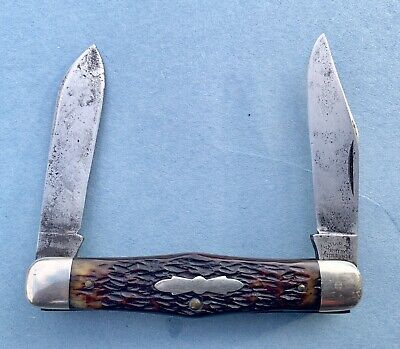 CATTARAUGUS CUTLERY LITTLE VALLEY MOOSE KNIFE