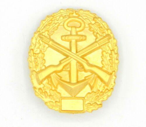 WW1 Imperial German Naval Badge Marine Gold