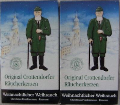 Crottendorfer Räucherkerzen 4 x je 24 x Weihnachtlicher Weihrauch