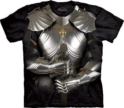 T-shirt Body Armor (Body Armor Knight T Shirt Adult Unisex The Mountain)