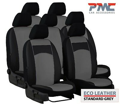 ECO LEATHER /& ALICANTE FRONT UNIVERSAL SEAT COVERS FITS BMW E39