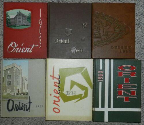 The Orient Yearbook - Ball State University Muncie, Indiana 1953-1960