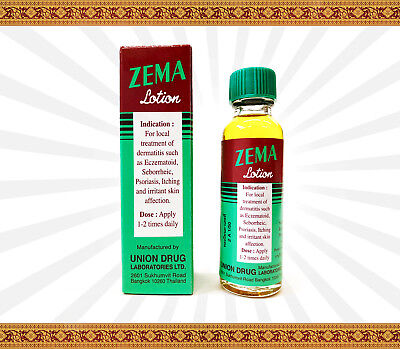 Zema Lotion Dermatitis Psoriasis Eczema Treatment Salicylic Acid 12