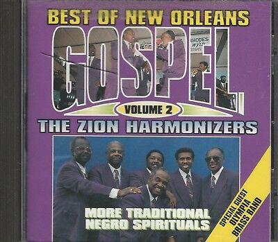 Music CD Best of New Orleans Gospel Vol 2 The Zion Harmonizers