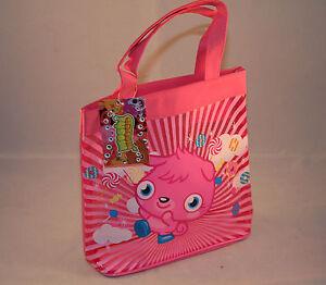 Moshi Monsters Childrens Pink Tote Shopper Shopping Swim Swimming School Bag