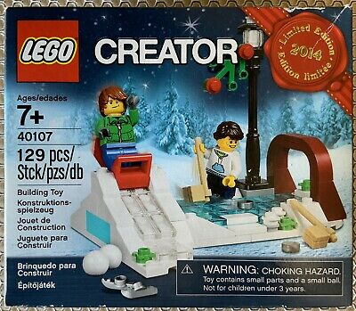 LEGO Winter Skating Scene (40107) Limited Edition from 2014 -NEW, Factory Sealed