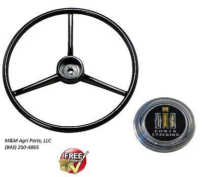 Steering Wheel Ih Cap Farmall 140 240 330 340 350 404 450 460 560 Tractor