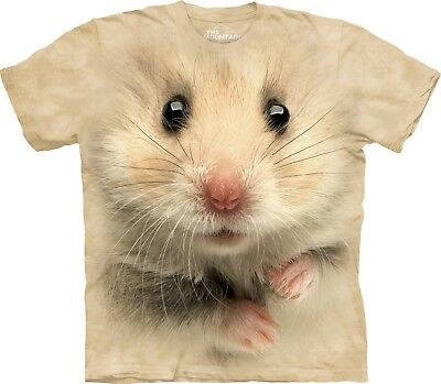 Hamster Face Pet T Shirt Adult Unisex The - Adult Hamster