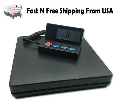 Digital Weight Electronic Postal Parcel Scale LED Screen Heavy Duty 110lbs/1oz