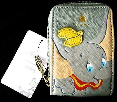 DISNEY Loungefly Dumbo Close Up Card Wallet Holder ID Fan Wallet >NEW<