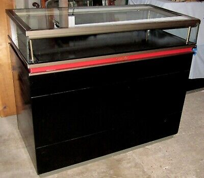 Used Original Cartier Display Case Store Counter Showcase Glass Top