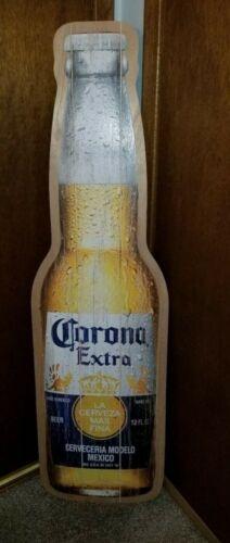 Corona beer 5 feet tall giant wooden bottle tiki beach bar game room new