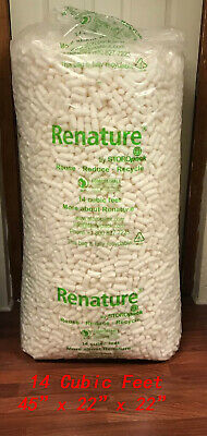 White Anti Static Packing Peanuts 14 Cubic Feet Local Pickup Only-quincy Ma
