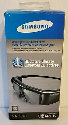 Samsung SSG-3100GB Active 3D Glasses For Smart TV Opened Never Used