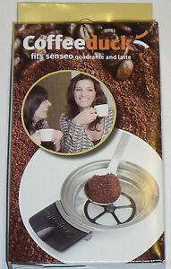 COFFEEDUCK SENSEO LATTE UND QUADRANTE PADHALTER HD 7825 7850 7860 7873 TOP