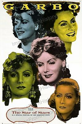 20x30 Poster Greta Garbo MGM The Star of Stars #GG54