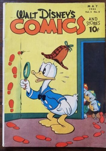 Comics And Stories #56 FN-VF   Barks Art   Dell 1945